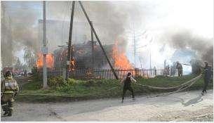 Ущерб от пожаров в мае 2019 года в Бердске превысил 5,6 млн рублей