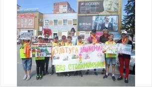 О культуре поведения на дорогах дети и ГИБДД напомнили в Бердске