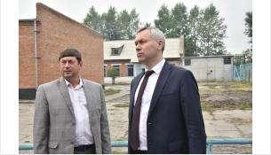 Губернатор Андрей Травников провел рабочую поездку в Коченевский район