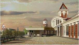 Проект нового ж/д вокзала в Бердске прошел экспертизу Стройку начнут осенью 2019-го
