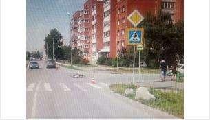 На пешеходном переходе в Бердске сбит 10-летний велосипедист