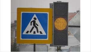 Светофоры подняли для удобства водителей