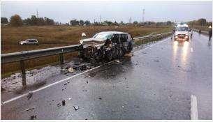 В крупном ДТП в Черепановском районе погибли три человека