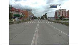 В Бердске 16-летняя девушка сбита автомобилем на пешеходном переходе у остановки «Березовая»
