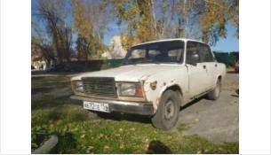 Угнали ВАЗ-2107