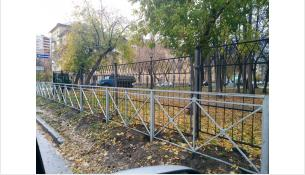 Забор перед забором