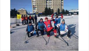 Зимний дворовый сезон открыт в Бердске