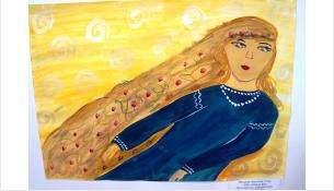 «Моя любимая фея» называется работа 12-летней Насти Федоровой