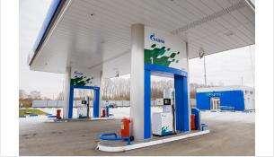 Новую газовую заправку «Газпрома» открыли в Бердске