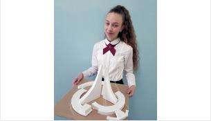 """Настя Мосолова разработала макет скульптурной композиции """"Паруса"""""""
