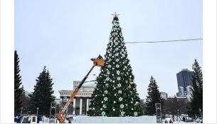 Главная елка Новосибирска
