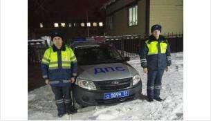 Сотрудники ДПС задержали угонщика