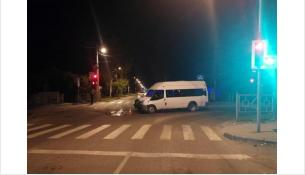 Пассажирка маршрутки сломала нос в ДТП 9 сентября на перекрёстке в Бердске