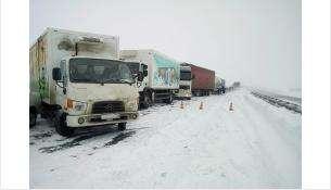 Крупное ДТП на трассе под Коченёво: есть погибший и пострадавший