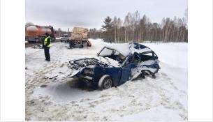 Смертельное ДТП в Искитимском районе - погибла 58-летняя пассажирка «Жигулей»