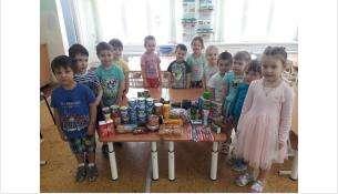 16-килограммовую посылку направил в армию солдату детсад №12 из Бердска
