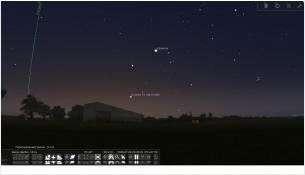 Чтобы увидеть комету, нужно ориентироваться на звезду Капеллу