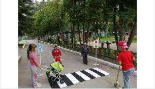 День дошкольной безопасности прошел в детсаду «Красная шапочка» в Бердске