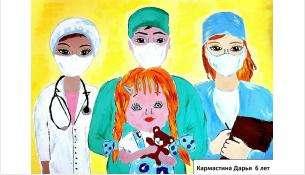 Рисунок Дарьи Кармастиной был признан одним из лучших