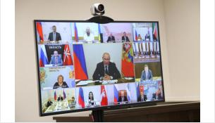 Заседание рабочей группы прошло в режиме видеоконференции с Москвой