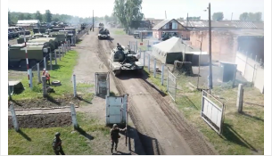 В крупнейших учениях участвуют новосибирские войска в Кемеровской области