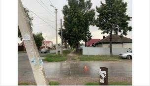 ДТП произошло на углу улиц Советской и Первомайской