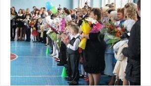 1 сентября в школе №8. Фото из архива Бердск-Онлайн