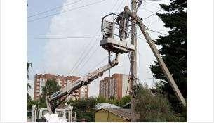 ТОС «Рассвет» проводит освещение ул. Заводской и пер. Водобачный
