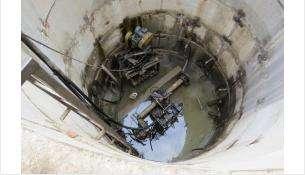 Ранее построенные колодцы работают на понижение уровня грунтовых вод