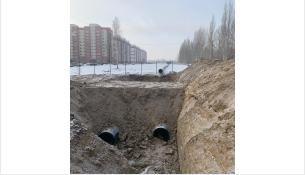 Место строительства водовода