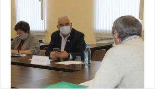 Депутат Законодательного собрания Новосибирской области Александр Барсуков провел личный прием граждан