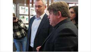 Евгений Шестернин и Андрей Травников провели рабочую встречу