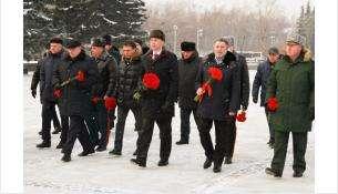 Среди участников памятных мероприятий – председатель Заксобрания области Андрей Шимкив