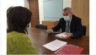 Депутат принимает граждан в администрации Советского района – с января заработает полноценная приемная