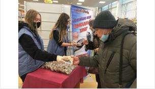 Акция «Блокадный хлеб» в Бердске