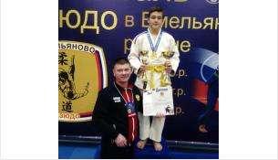 Ддзюдоист из Бердска Кирилл Калиниченко
