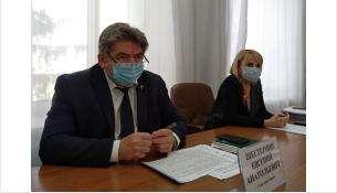 Глава Бердска Евгений Шестернин и вице-мэр Жанна Шурова