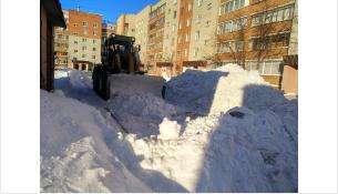 Снег должен вывозиться в течение суток после очистки