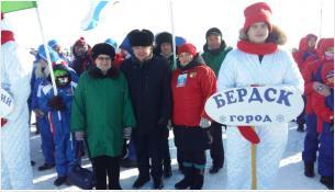 Бердчане участвовали в XXIV зимних сельских спортивных играх в Татарске