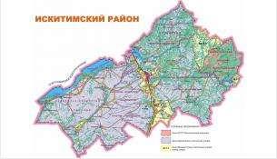 Карта общедоступных охотничьих угодий Исиктимского района