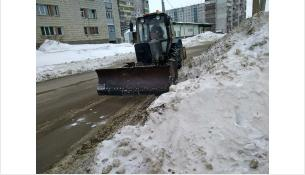 Вывоз снега начат в Бердске