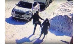 Действо попало на камеры видеонаблюдения