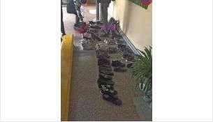 В школе №12 действует приказ директора о сменной обуви