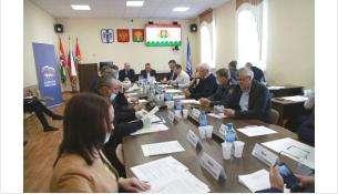 Выездное совещание в Коченево