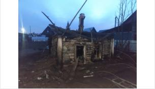 Дом сгорел 5 мая