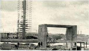 Строительство Мемориала Славы в Бердске