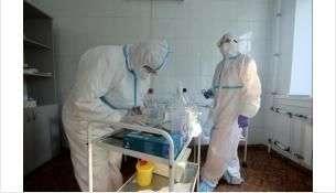Увеличилось число больных в «красной зоне» ковидного госпиталя в Бердске