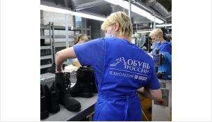 На фабрике обуви