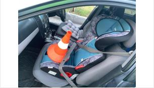 Ребенок ехал в автокресле непристегнутым