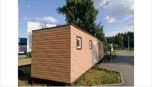 Общественный туалет в парке Бердска построен летом 2021 года
